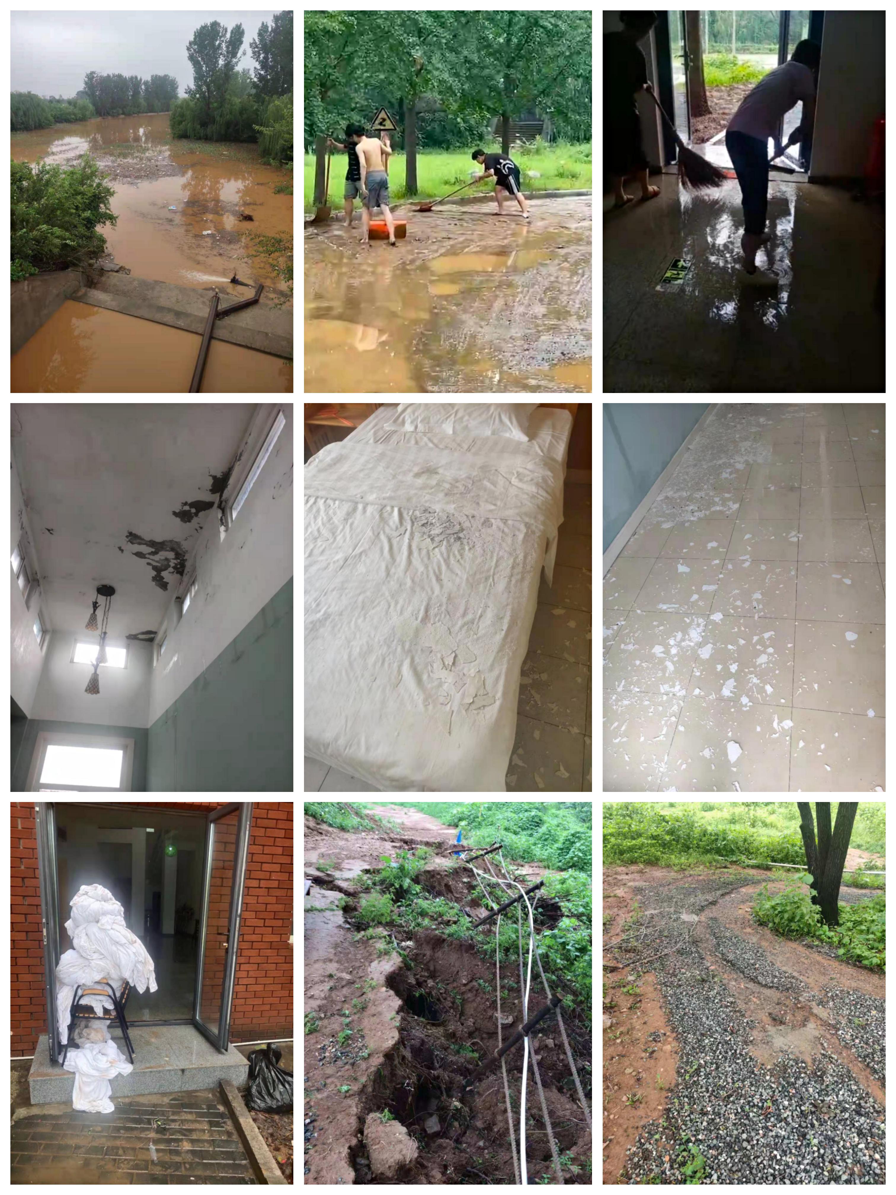 安利隆山庄遭遇7.12暴雨袭击 生产生活恢复工作正稳步推进
